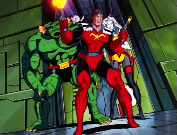 Los Saqueadores en la tercera temporada de la serie animada de X-men.