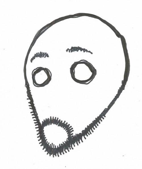 Auto-retrato de Takeshi Obata