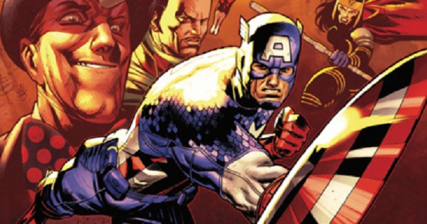 a3fca15dac426 Rick Remender y las ideologías del Capitán América