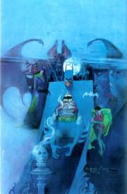 Portada de Batman #400, por Bill Sienkiewicz