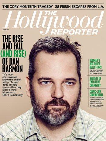 Portada de The Hollywood Reporter dedicada a Dan Harmon