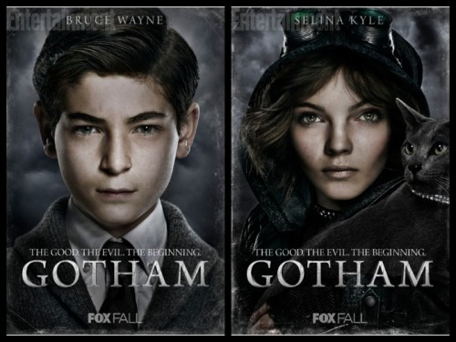 Bruce Wayne y Selina Kyle