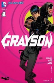 Grayson portada DC Comics