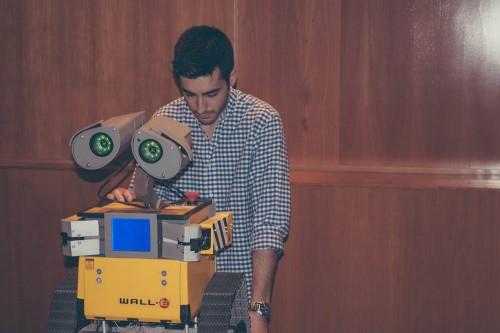 El Wall-E animado fue una de las sesaciones del salón