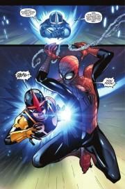 El nuevo Nova se cruza con el nuevo Spiderman