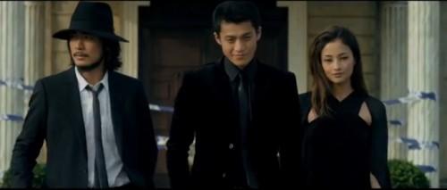 Los protagonistas de Lupin III
