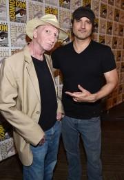Frank Miller y Robert Rodriguez en la SDCC 2014 (Imagen de www.facebook.com/SinCityMovie)