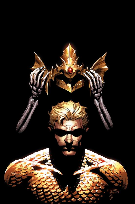 Portada del Aquaman #35 por Paul Pelletier
