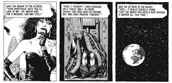 La Actriz y el Obispo conjuga la maliciosa musicalidad del texto con un dibujo portentoso