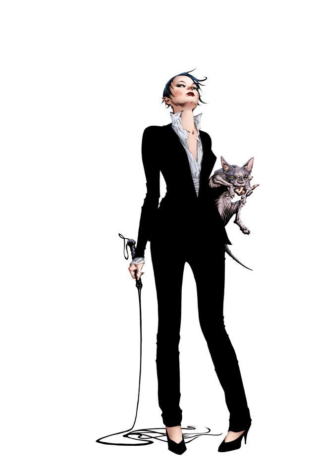 Portada del Catwoman #35 por Jae Lee