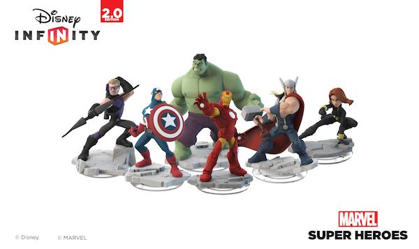 Los Vengadores en Disney Infinity 2.0.