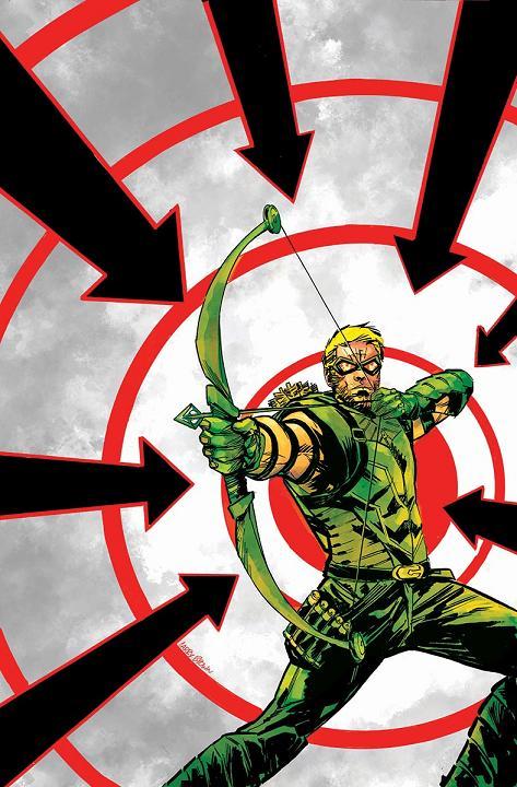Portada del Green Arrow #35 por Daniel Sampere