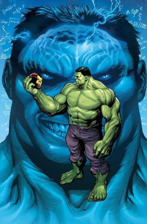 Portada del Hulk Nº5 / Gary Frank / Marvel / Da algo de miedo el asunto.