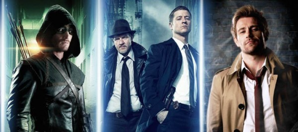 SDCC 2014: Nuevos trailers de Constantine, Gotham, Arrow, Air y Horns