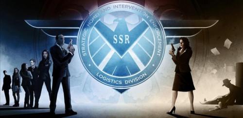 Poster conjunto de la SDCC de Agents of S.H.I.E.L.D. y Agent Carter.