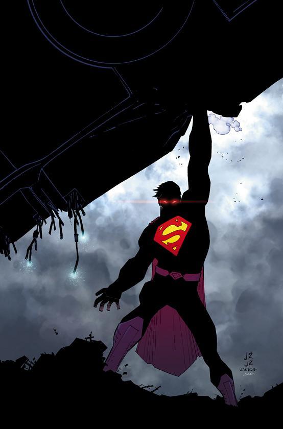 Portada del Superman #35 por John Romita Jr