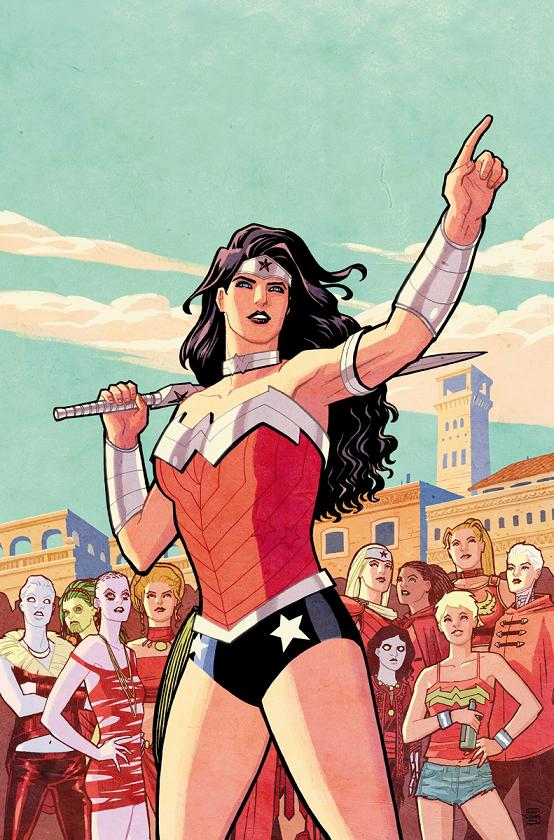 Portada del Wonder Woman #35 por Cliff Chiang