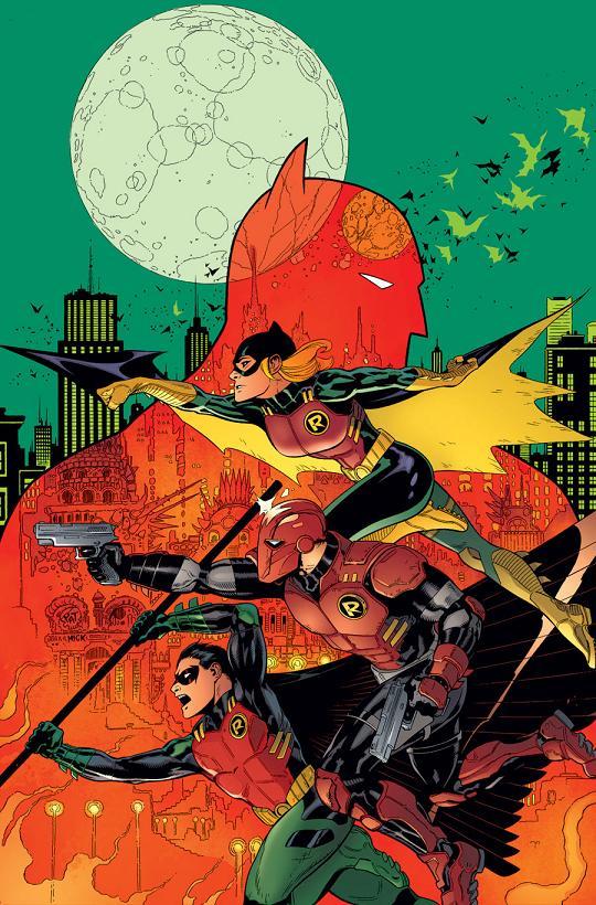 Portada del Batman and Robin #36 por Patrick Gleason