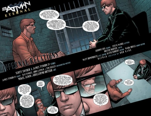 Autores españoles como Guillem March o Mikel Janin se han pasado por la serie. Arriba página de Mikel Janin