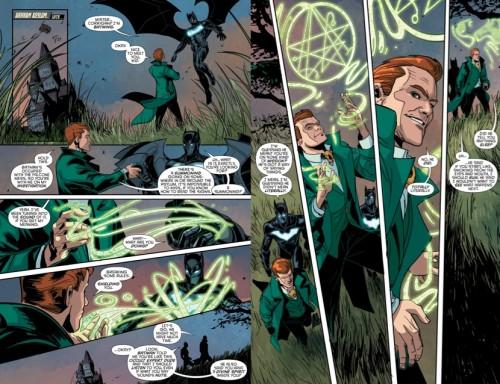 Batwing y Jim Corrigan ponen el toque sobrenatural a la serie
