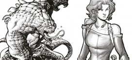 Crowfunding: 'El Destino de Ámbar' , ilustrado  por David Baldeón.