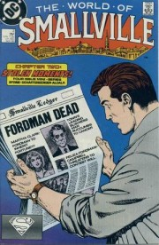 Portadas originales de la miniserie World of Smallville