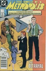 Portadas originales de la miniserie World of Metropolis