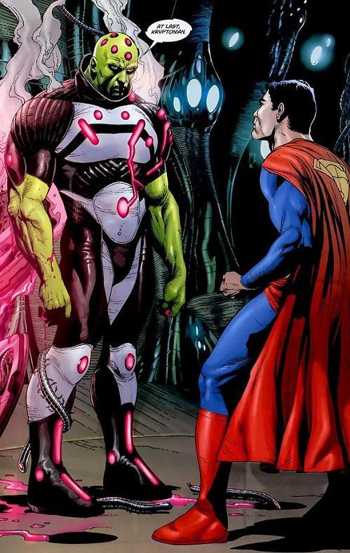 El contundente Brainiac de Geoff Johns y Gary Frank en Action Comics