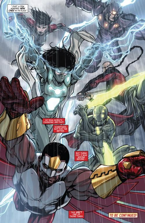 Avengers World Ascendants