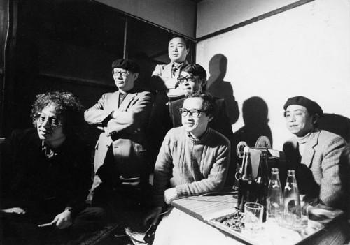 Encuentro de los antiguos residentes de los Tokiwa-sô; entre ellos OsamuTezuka, Shôtarô Ishinomori y Fujiko Fujio