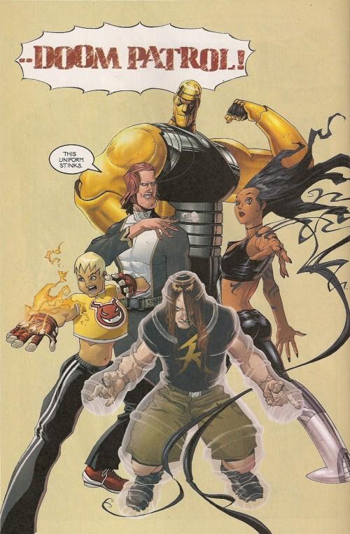 La Doom Patrol de John Arcudi