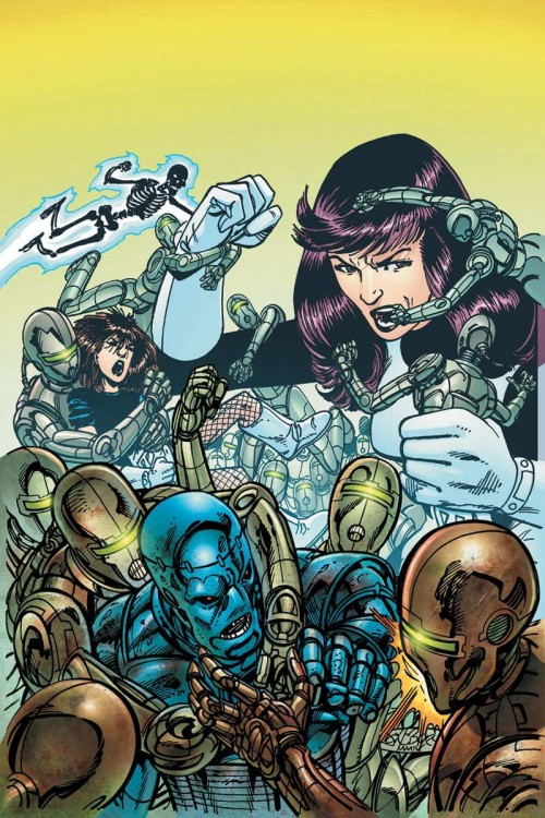 Portada del Doom Patrol #6 por John Byrne