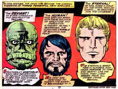 Celestiales, Eternos y Desviantes protagonistas de una cosmogonía Marvel |  Zona Negativa