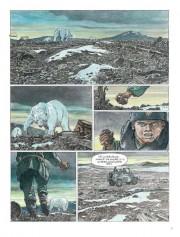 Primeras páginas de Estación 16 por Hermann