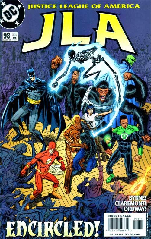 La Doom Patrol fue presentada en la JLA por nada más y nada menos que John Byrne y Chris Claremont juntos