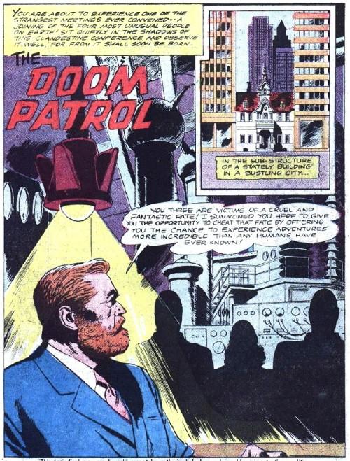 Con el reclutamiento de Niles Caulder daba comienzo la Doom Patrol