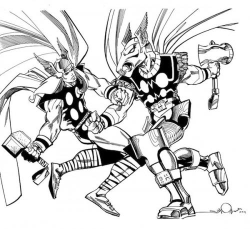 Bill y Thor
