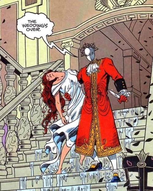 Red Jack es uno de los villanos más siniestros que han pasado por la editorial