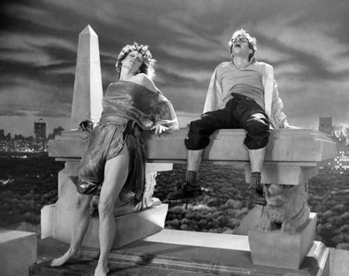 Sigourney Weaver y Rick Moranis
