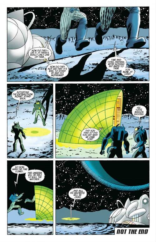 ¿Así que el Unseen ya tenía planeado matar al Vigilante, eh?