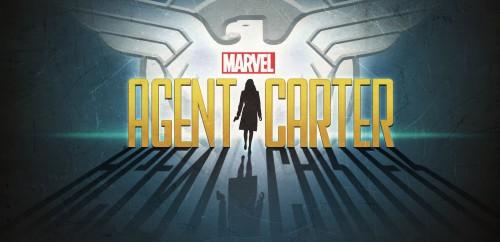 Logo oficial de Agente Carter