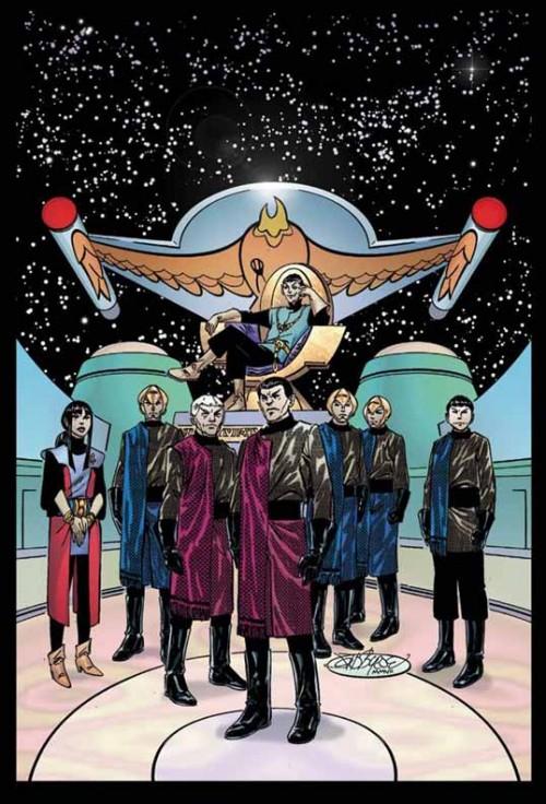 Alien Spotlight Romulans de John Byrne