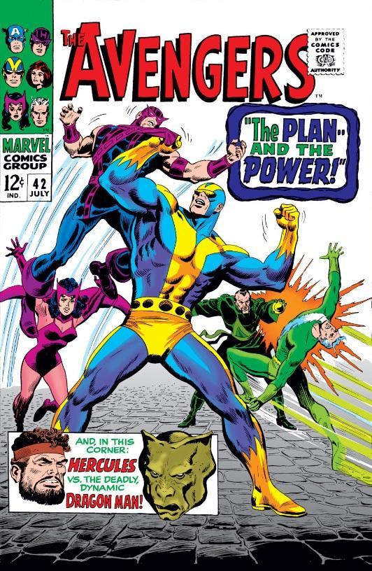 Avengers 42 John Buscema