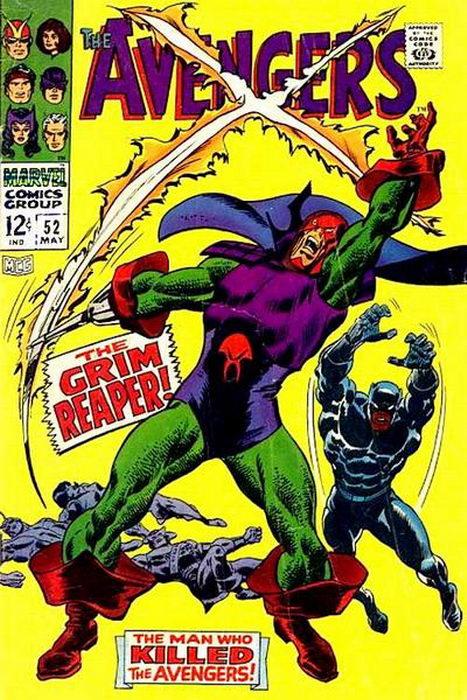Avengers 52 John Buscema