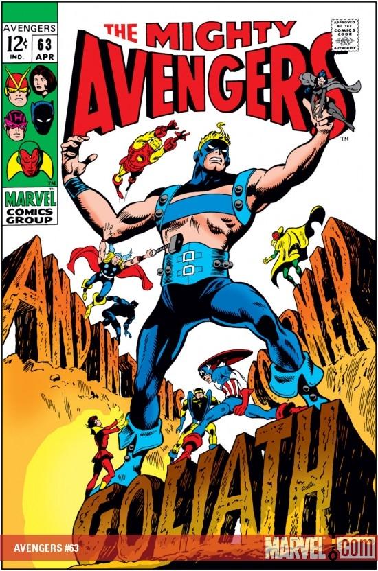 Avengers 63 Gene Colan