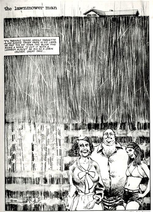 Magnífica página introductoria realizada por un Simonson pletórico