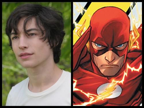 Ezra Miller será Flash