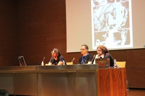 Fernando Blanco y Fernando Dagnino durante su charla