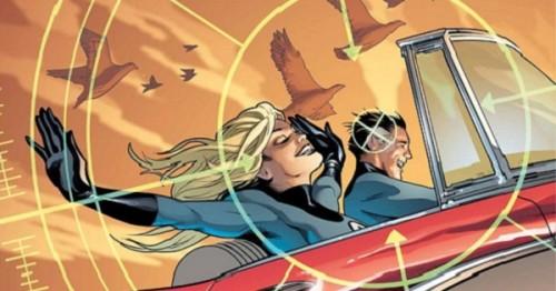 Greg Land Fantastic Four PORTADA