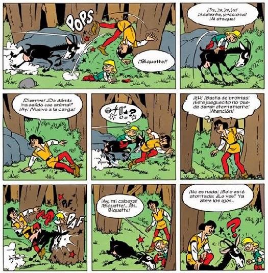 Encuentro entre Johan y Pirluit en 'El duende del bosque de las rocas'